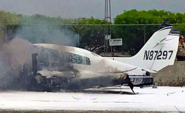 EEUU:   Al menos cuatro muertos al estrellarse una avioneta cerca del aeropuerto de California