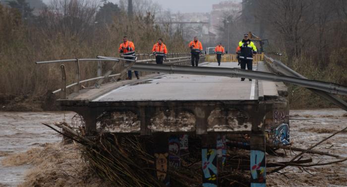 Aumentan los fallecidos en España por el temporal Gloria