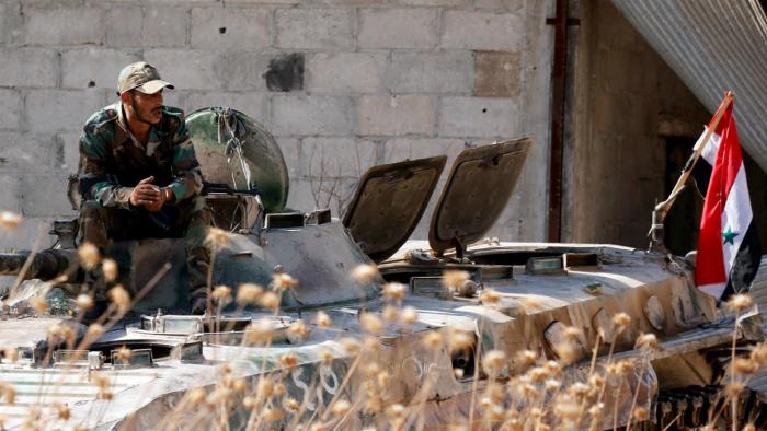 Interfax - Bis zu 40 syrische Soldaten in Idlib von Rebellen getötet