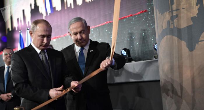 Putin y Netanyahu inauguran en Jerusalén un monumento en honor a los héroes de Leningrado