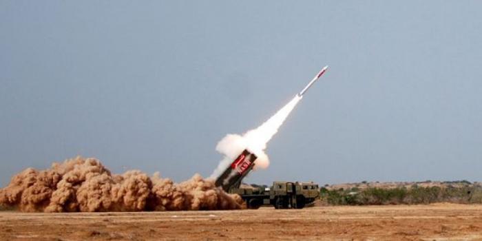 Pakistan testet ballistische Rakete   Hatf-3