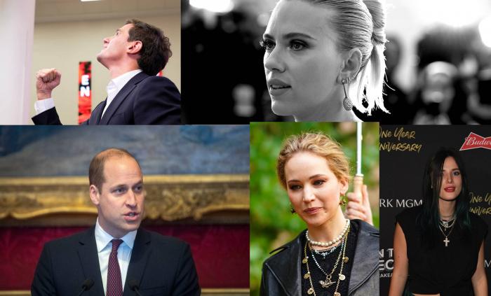 Merkel, Beckham, Scarlett Johansson y otras víctimas de los 'hackers' antes que Bezos