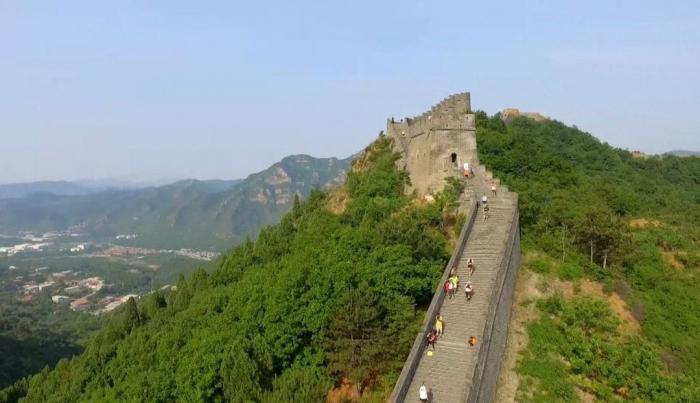 China cerrará una sección de la Gran Muralla para controlar la propagación del coronavirus