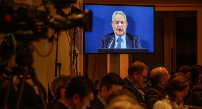 Davos:   Milliardär Soros legt dar, wie er Feinde offener Gesellschaften bekämpfen will