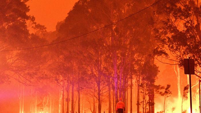 Australia fires speed global CO2 level rise: UK Met Office