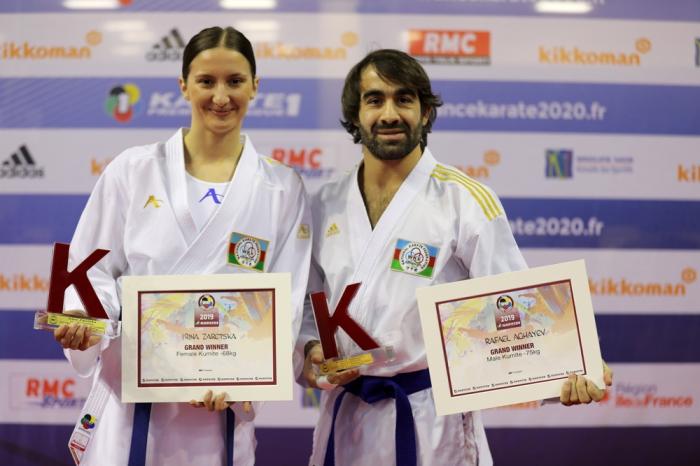 Rafael Ağayev və İrina Zaretska dünyanın ən yaxşı döyüşçüləri arasında -  FOTO
