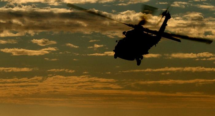 Varios militares heridos al impactar un cohete en helicóptero en Afganistán