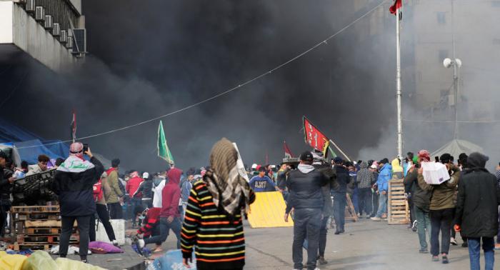 Varios muertos y decenas de heridos durante las protestas en Irak