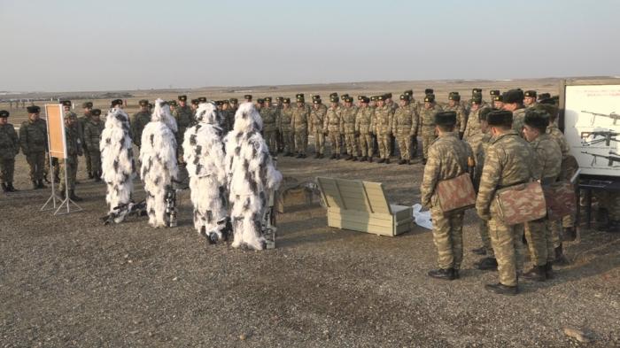Naxçıvan Qarnizonu qoşunlarında toplantılar davam edir