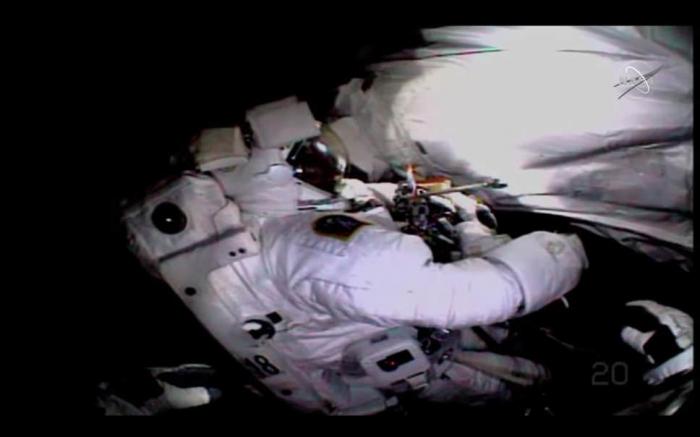 Space station astronauts fix $2 billion cosmic ray detector