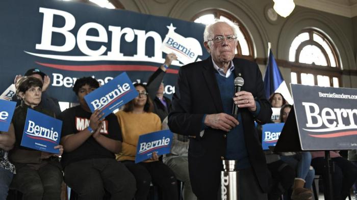 Sanders se afianza como favorito en el arranque de las primarias demócratas