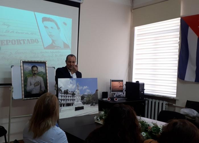 Azerbaiyán conmemora el 167º aniversario del nacimiento del Héroe Nacional de Cuba