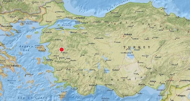 Magnitude 4.8 earthquake hits western Turkey