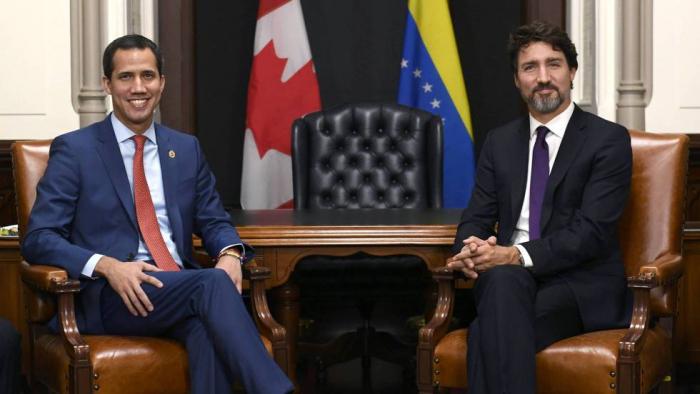 Guaidó avala los contactos de Canadá con Cuba para buscar una salida a la crisis de Venezuela