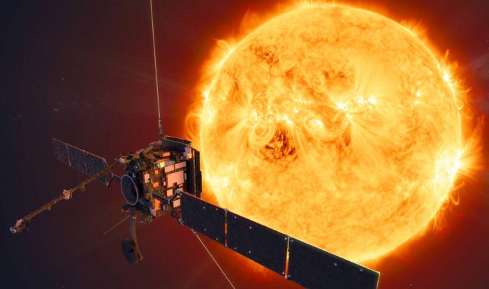 Una nave verá por primera vez una región desconocida del Sol