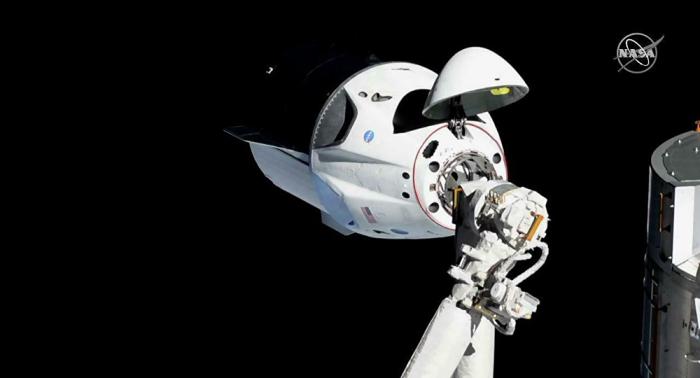 Una nave de carga Dragon de la compañía SpaceX volará a la EEI en primavera