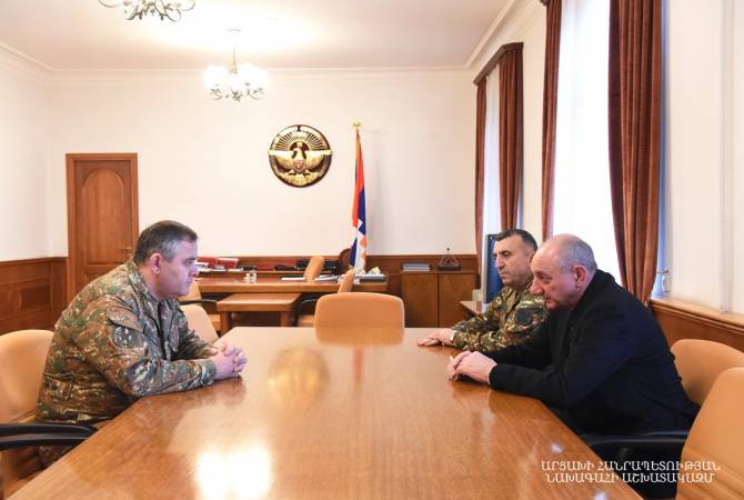 Chief of Armenian General Staff visits Nagorno-Karabakh