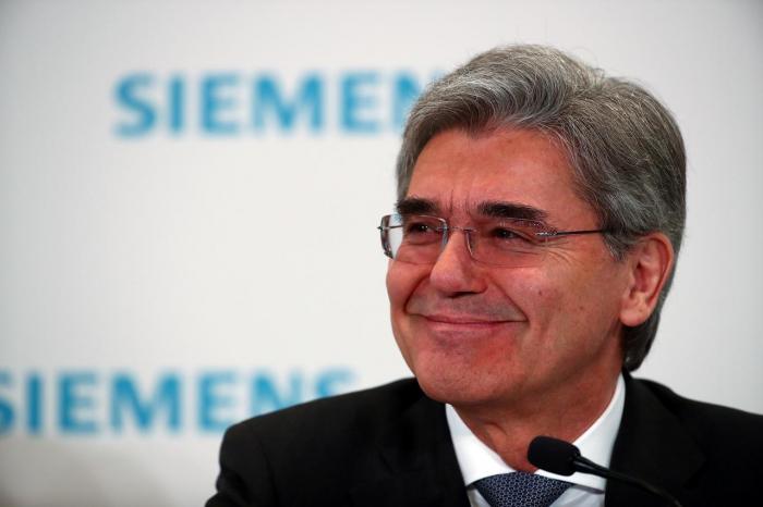 Siemens-Chef - Schaffe meinen Job mit Abspaltung von Energy ab