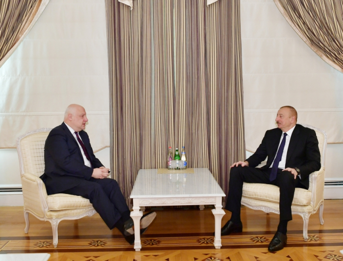 Ilham Aliyev receives OSCE PA president - UPDATED