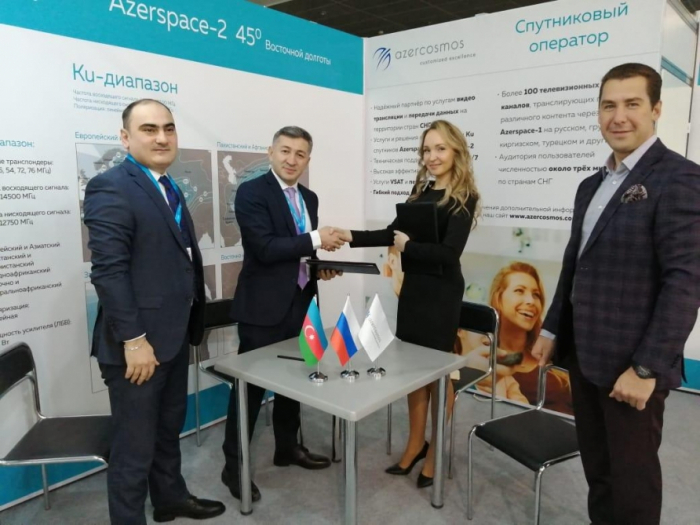 Azercosmos signs new deal to broadcast Russian TV channels