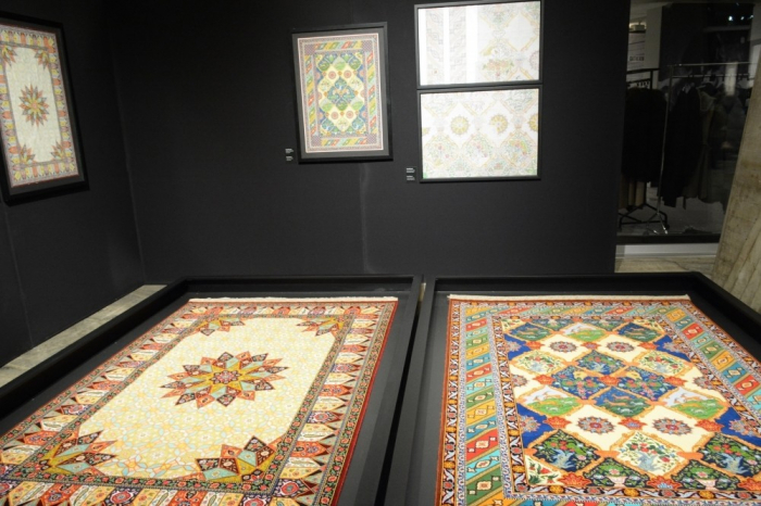 Exhibition of Azerbaijani carpets opens at UNESCO`s Headquarters - PHOTOS