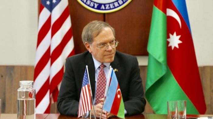 US ambassador commments on meeting of Azerbaijani, Armenian FMs in Geneva