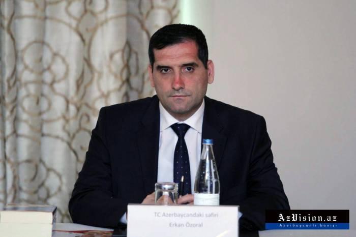 """""""Azərbaycan zəlzələ ilə bağlı Türkiyəyə lazımi yardımları edib"""" - Səfir"""