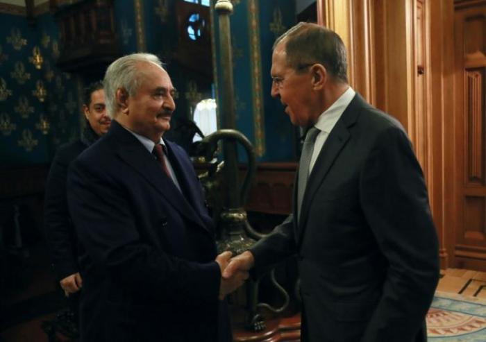 Libye:   Haftar a quitté Moscou sans signer l