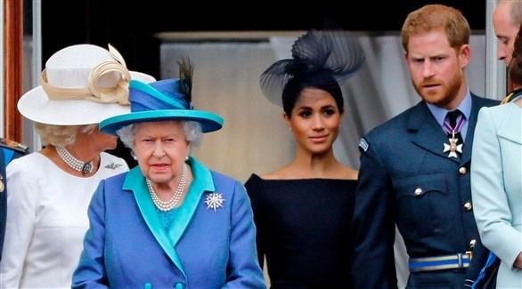 """هاري وميغان يفقدان لقب """"السمو الملكي"""""""