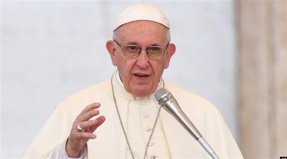 بابا الفاتيكان يدعو إلى إنهاء العنف في ليبيا