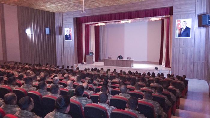 Naxçıvan Qarnizonu qoşunlarında toplantılar keçirilir - VİDEO