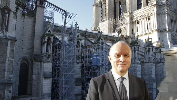 La restauration de Notre-Dame ne sera pas terminée en 2024, explique Georgelin