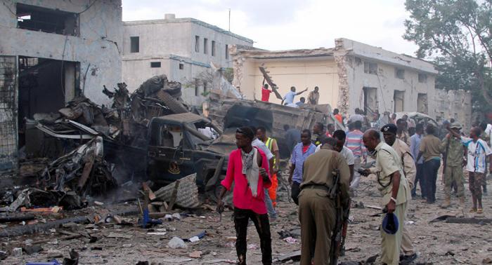 انفجار سيارة ملغومة استهدفت أتراك في الصومال