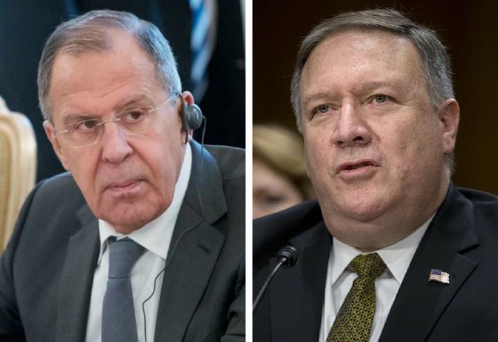 Pompeo və Lavrov generalın öldürülməsini müzakirə edib