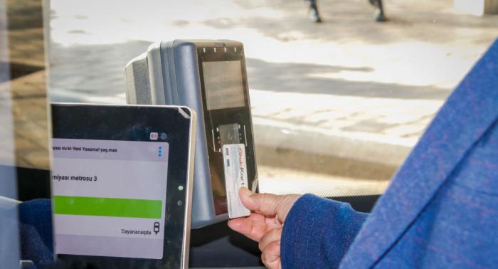 Bakıda daha bir avtobus kart sisteminə keçir
