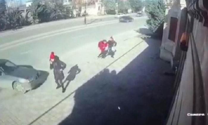 Xırdalanda maşın vuran məktəblilərin yeni FOTOSU