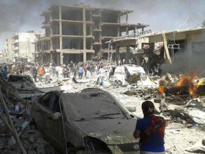Türkiyə-Suriya sərhədində terror aktı - Ölənlər var