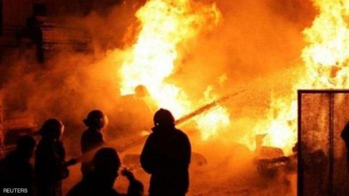 حريق في سيبيريا يقتل 11 مهاجرا