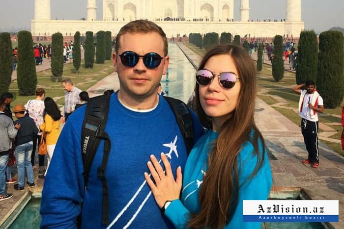 İranda ölən stüardessanın son paylaşımı - Pilotla evli imiş (FOTOLAR)