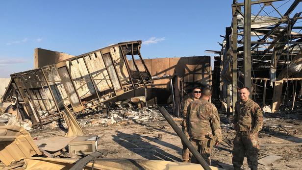 Les frappes iraniennes ont blessé onze soldats américains