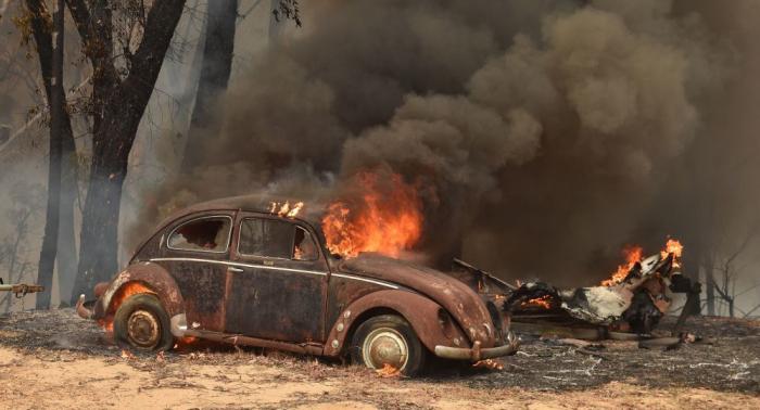 حرائق أستراليا تسبب زيادة كبيرة في ثاني أكسيد الكربون في العالم