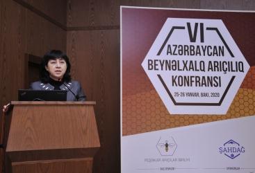 20 empresas participan en la conferencia internacional sobre apicultura en Bakú