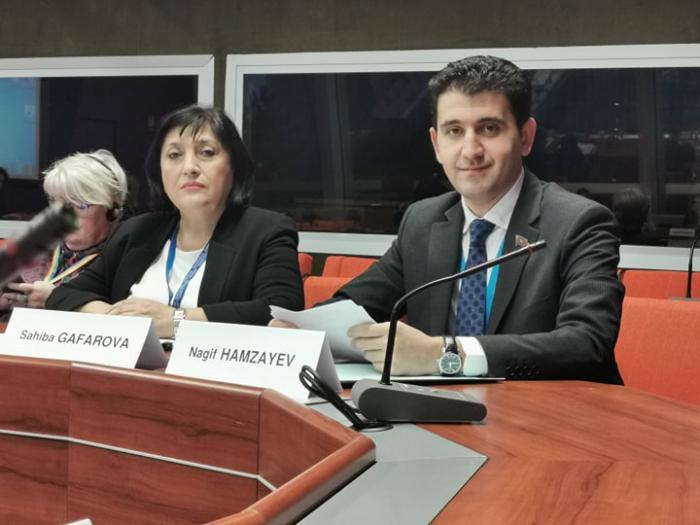 Azərbaycanlı deputat AŞPA-da sədr müavini seçildi