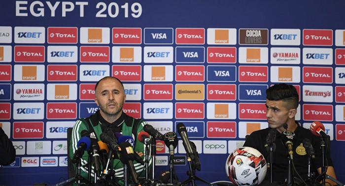 بلماضي: هدفنا الفوز بكأس العالم 2022
