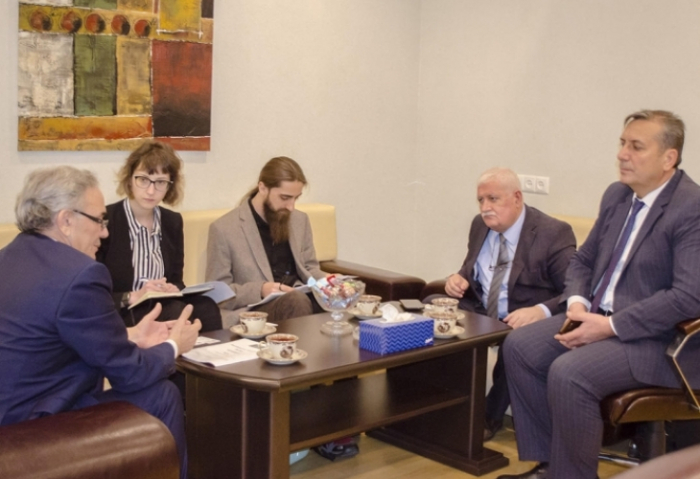Representative of OSCE Election Observation Mission visits Azerbaijan Press Council