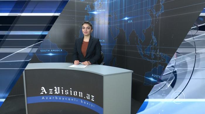 AzVision TV publica nueva edición de noticias en ingléspara el 17 de enero-Video
