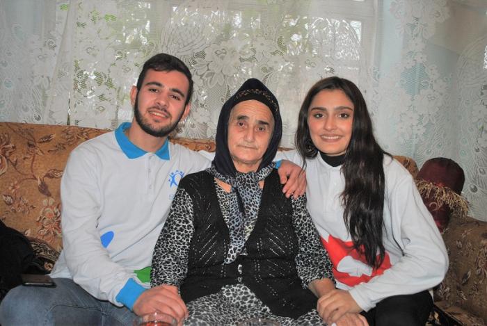 """""""Könüllü qonaq"""" təşəbbüsü bu dəfə Masallıda - FOTOLAR"""