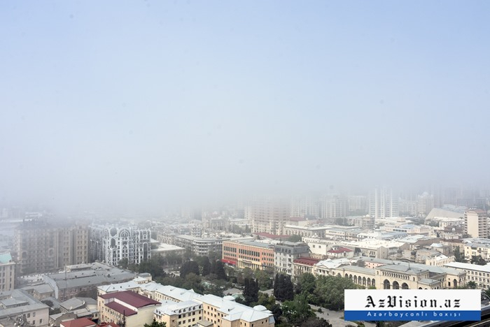 Bu gün hava dumanlı olacaq