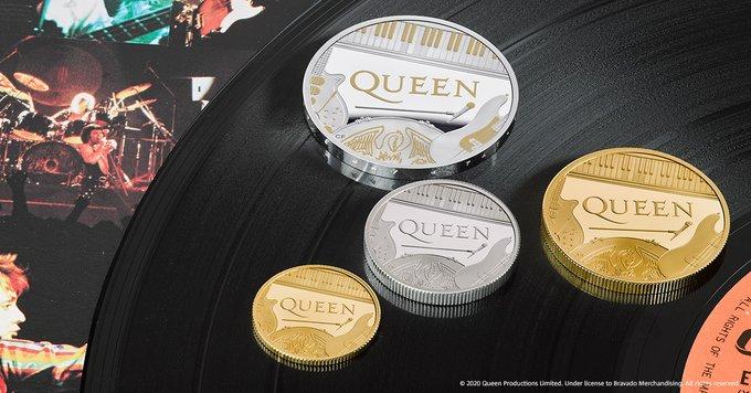 GB: Queen honoré par une pièce commémorative de la monnaie royale