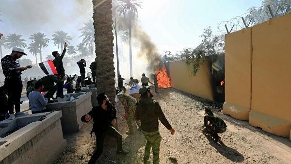 U.S. embassy in Baghdad suspends consular operations: statement